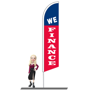 We Finance Feather Flags 15ft