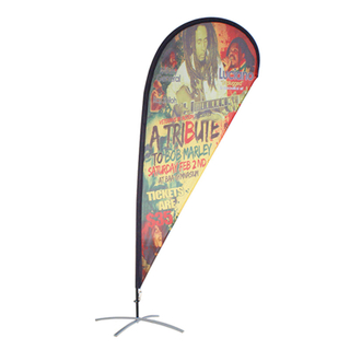 Custom Teardrop Flag Banner